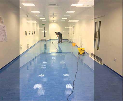 Choosing green vinyl or linoleum sheet flooring